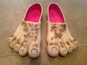 Hobbit Feet by mika113