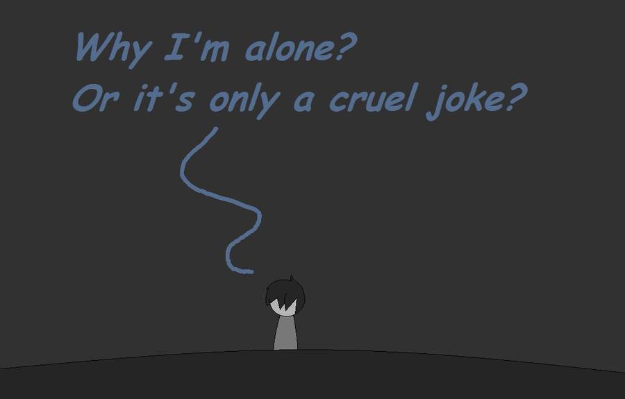Alone by wizardotaku