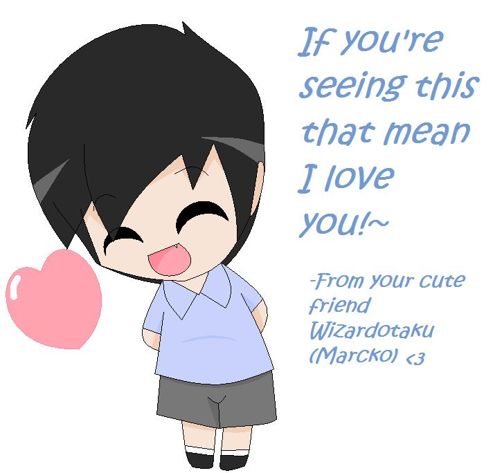 I love you by wizardotaku