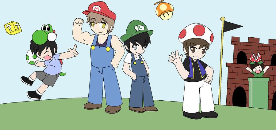 Mario Bros. Parody by wizardotaku