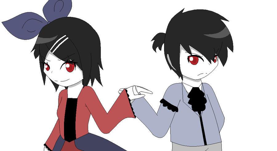 Story of Evi l- Evil Twins by wizardotaku