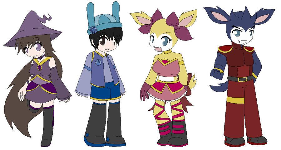 New Looks by wizardotaku
