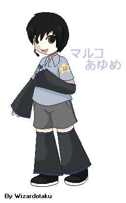 Ayume Maruko Official by wizardotaku