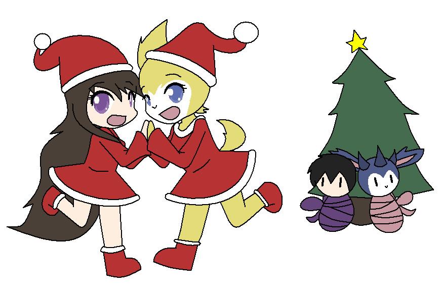 Merry X-mas from Magicland by wizardotaku