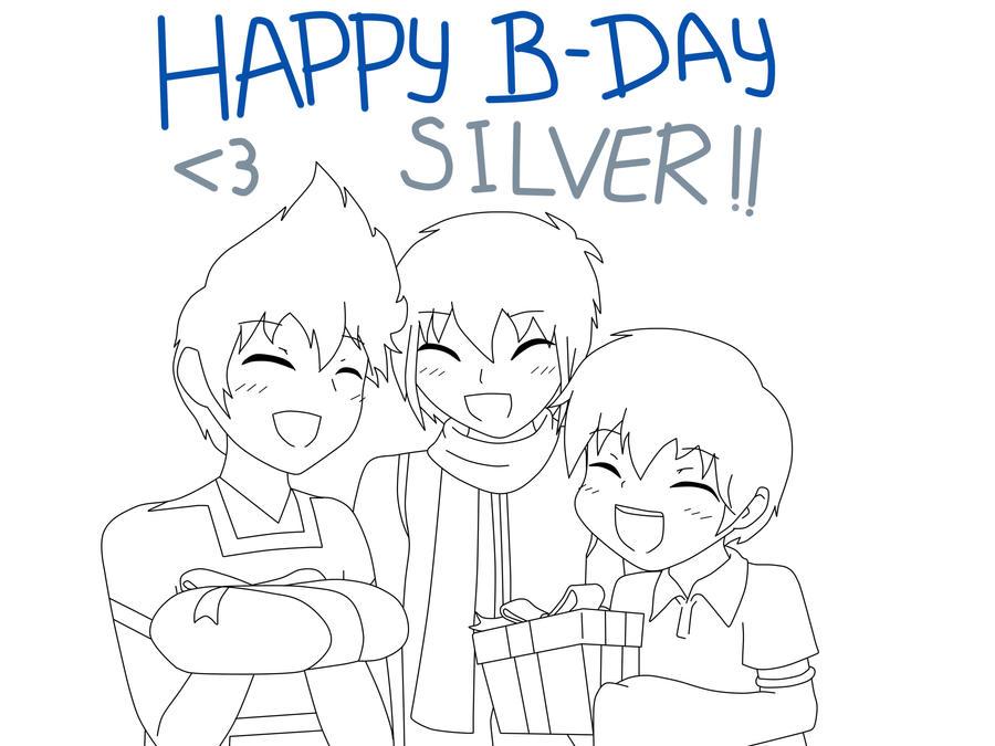 Happy B-Day Silver by wizardotaku