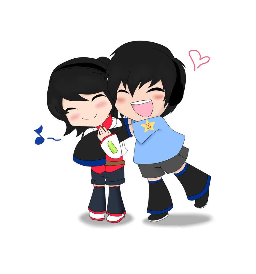 Nami and Maruko by wizardotaku