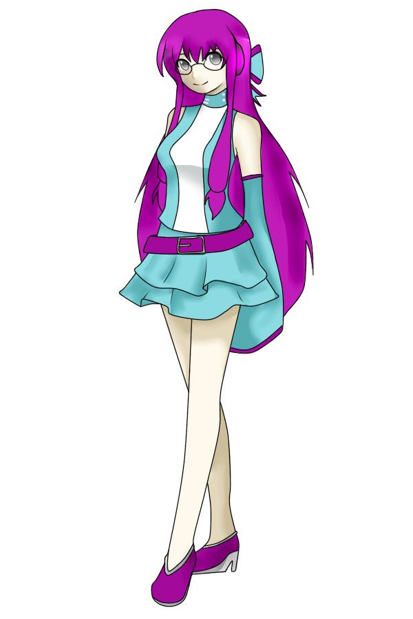:UTAU Newcomer: Amaine Moona by wizardotaku