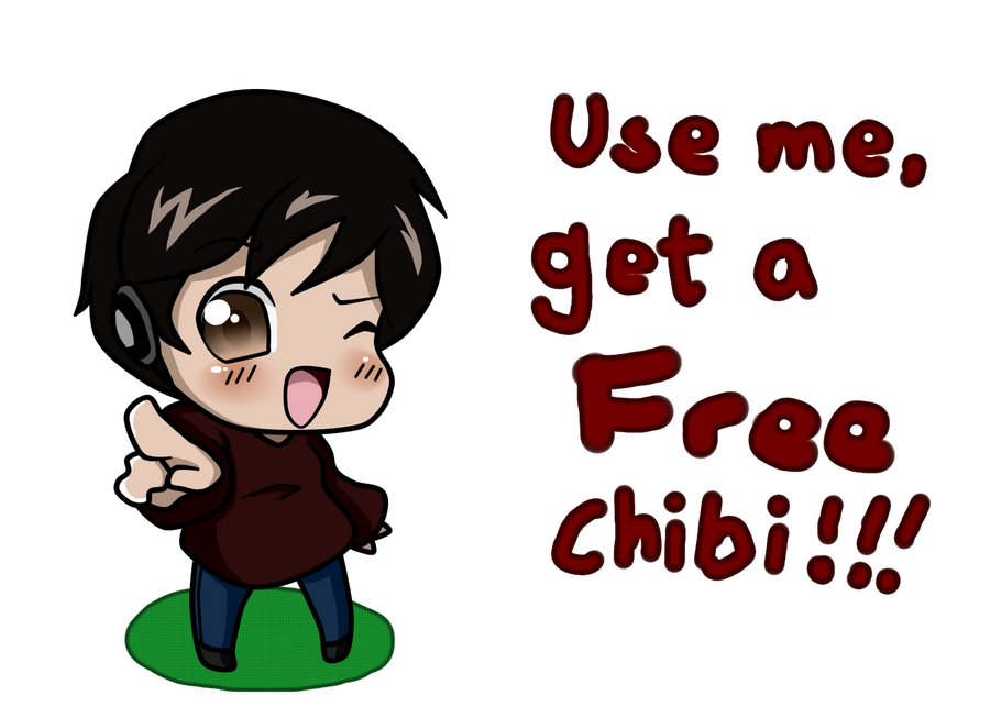 FREE CHIBIs!! :D by wizardotaku