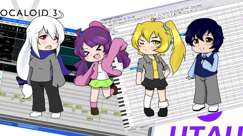 I'm a happy UTAU/Vocaloid Master by wizardotaku