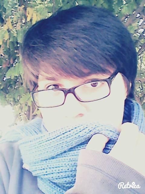 I like mah scarf n///n by wizardotaku