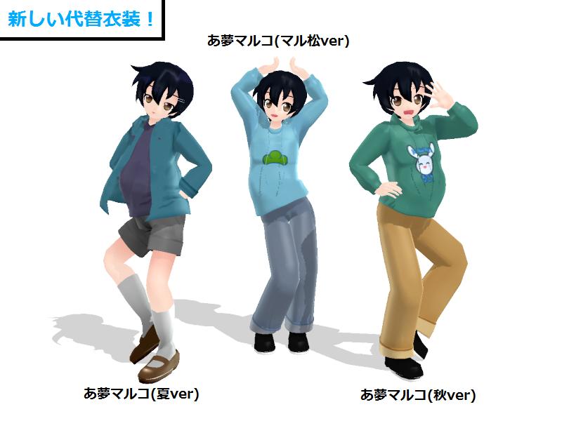 [MMDModel Distribution] Ayume Maruko Alter Outfits by wizardotaku