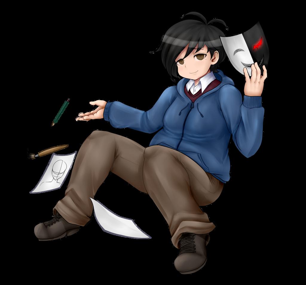 DanganRonpa - Super High School Level Artist by wizardotaku