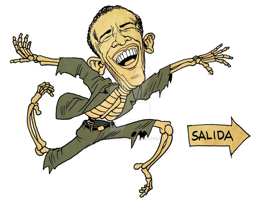 Obama by JAMES-cartoons