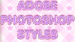 ADOBE PHOTOSHOP STYLES by MissesAmberVaughn