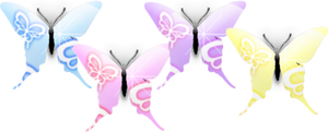 4 Butterflys
