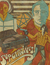 Supernatural 70s by retronami