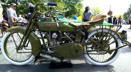 Ancient Cop Harley