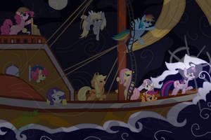 Ten Very Venturous Ponies...