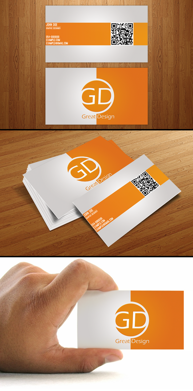 Business card by great design on deviantart business card by great design reheart Images