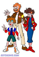 The Stantz Family by Ectozone