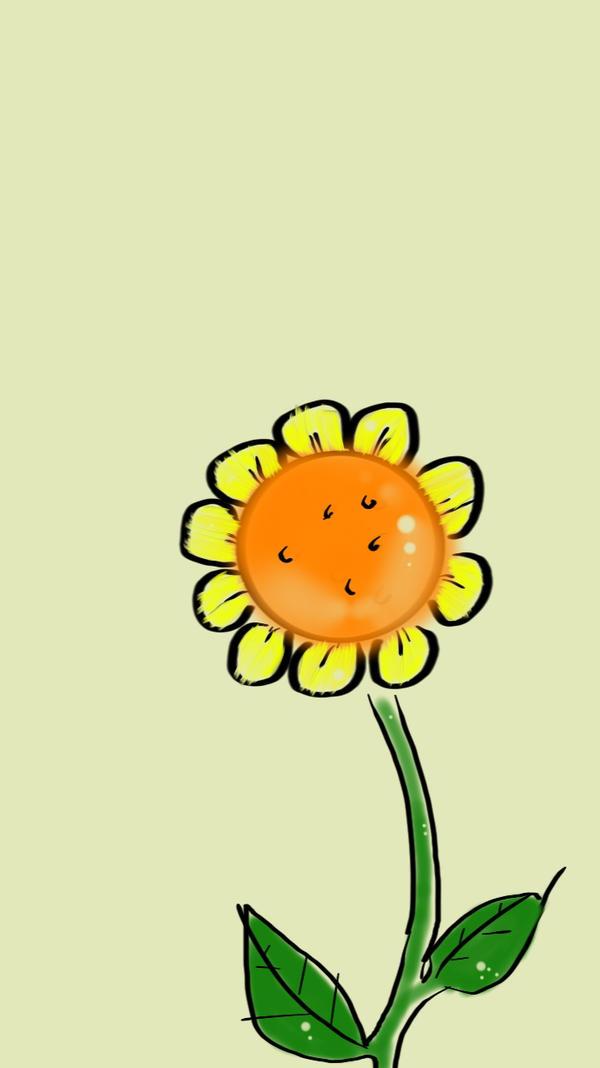 Sun Flower by ogaymalmsteen