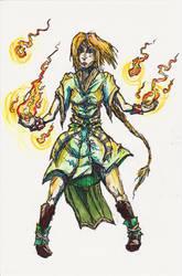 Flame Handler by MoonlightHawk