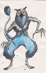 Owl Demon Monster