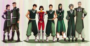 The Beifongs for Avatar Secret Santa