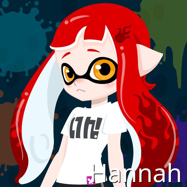 Hannah, Evan's Female Demon Clone by Brightsworth-Heroes