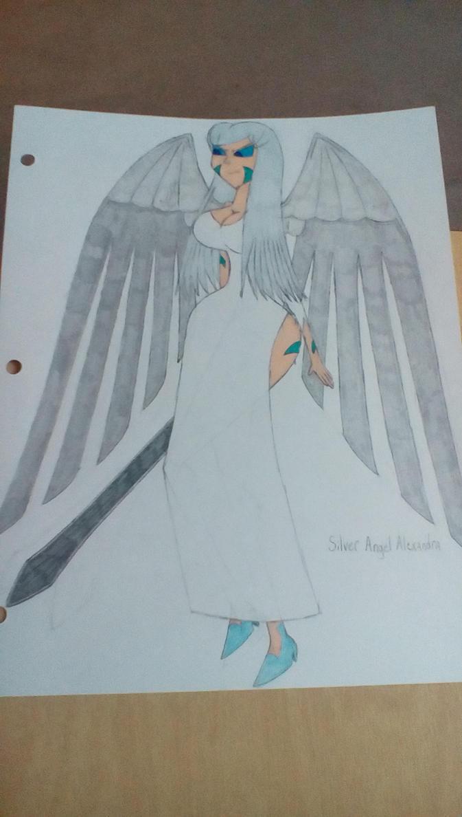 Silver Angel Alexandra by Brightsworth-Heroes