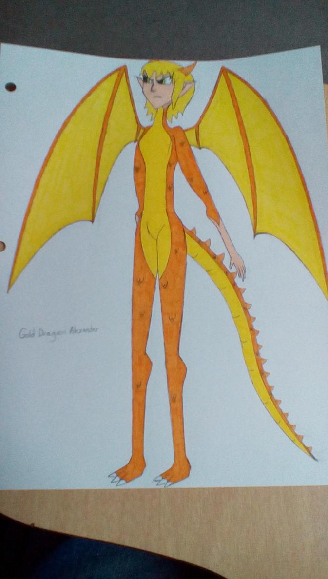 Gold Dragoon Alexander by Brightsworth-Heroes