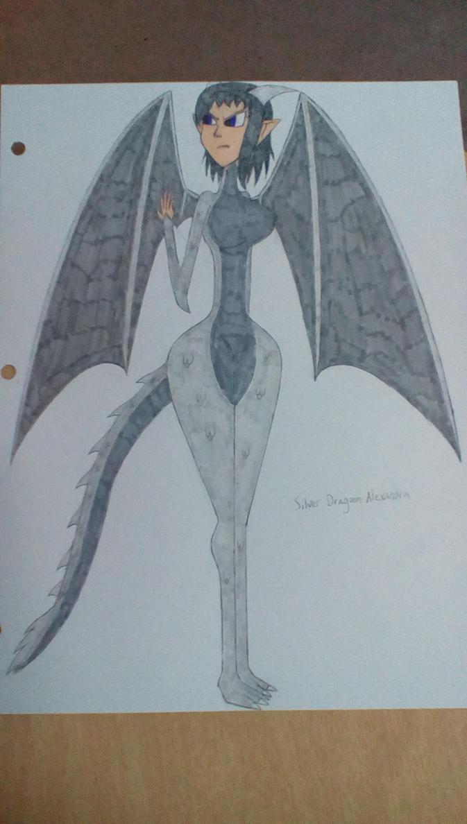 Silver Dragoon Alexandra by Brightsworth-Heroes