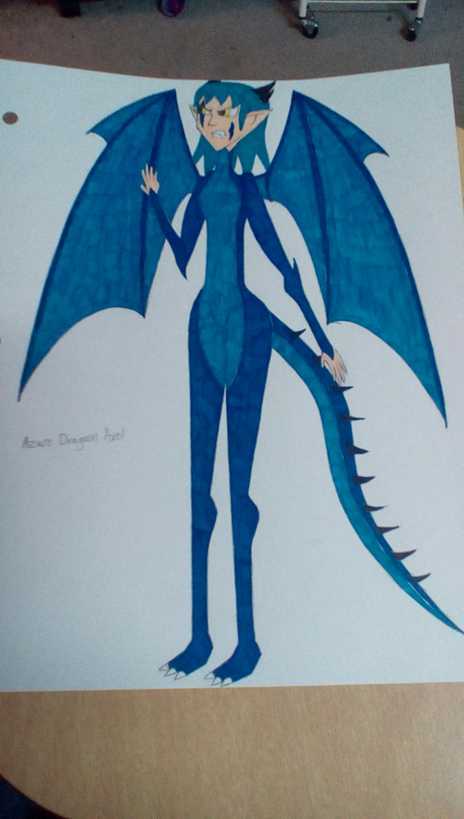 Azure Dragoon Axel by Brightsworth-Heroes