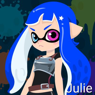 Julie (14 Years old, Inkling Form) by Brightsworth-Heroes