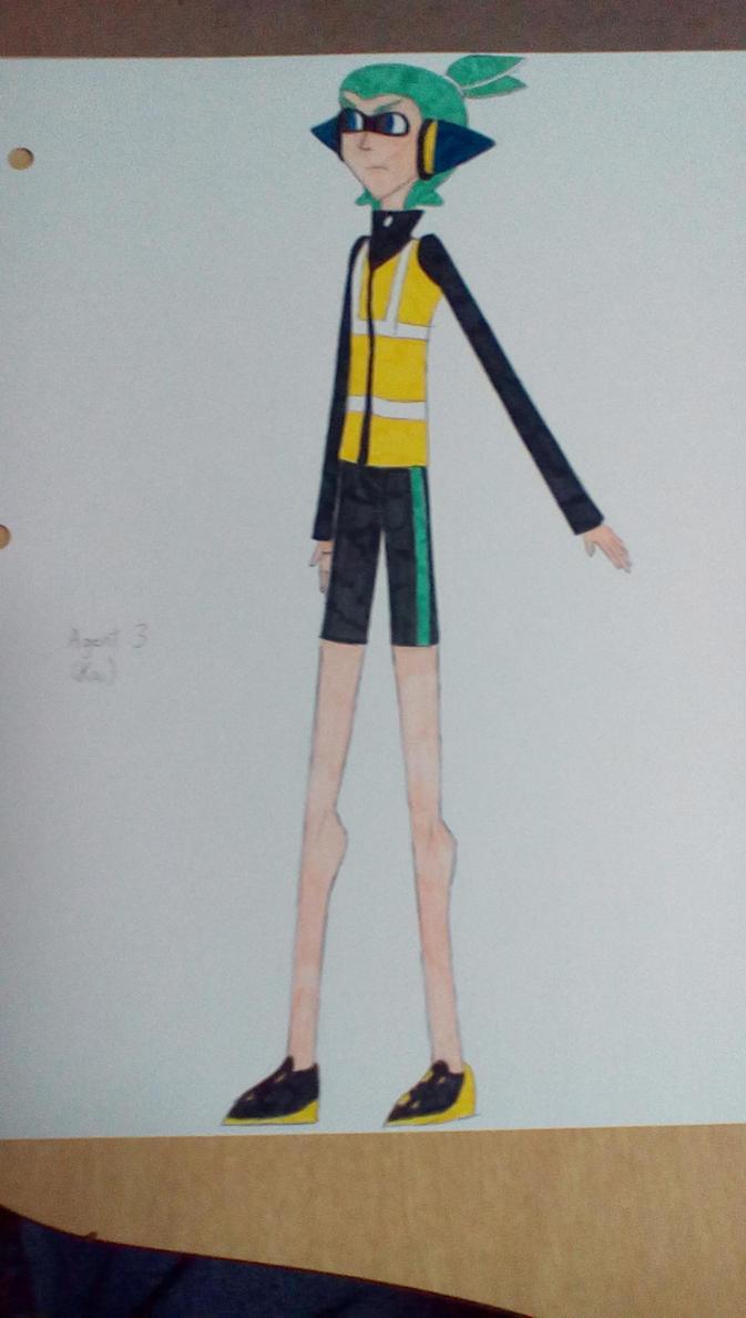 Kai (KaiFreshSquidPower's Character) by Brightsworth-Heroes
