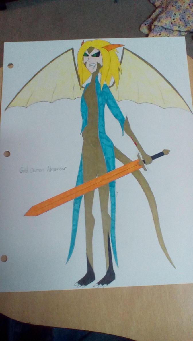 Gold Demon Alexander by Brightsworth-Heroes