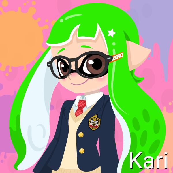 Kari (14 Years Old, Inkling Form) by Brightsworth-Heroes