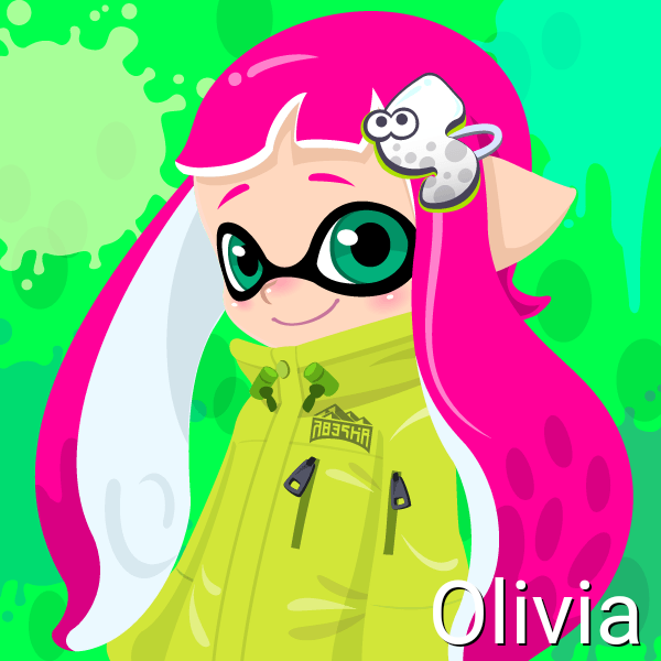 Olivia (14 Years Old, Inkling Form) by Brightsworth-Heroes