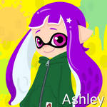 Ashley (Octoling, 14 Years old) by Brightsworth-Heroes