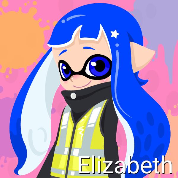 Elizabeth (14 Years old, Inkling Form) by Brightsworth-Heroes