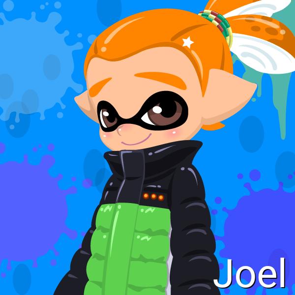 Joel (14 Years Old, Inkling Form) by Brightsworth-Heroes