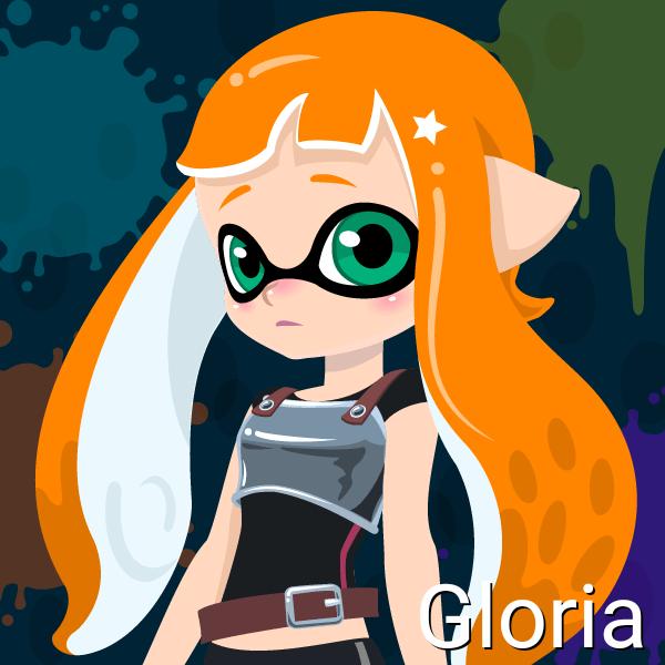 Gloria (Inktoling, 14 Years old) by Brightsworth-Heroes