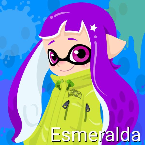 Esmeralda (Octoling, 14 Years Old) by Brightsworth-Heroes