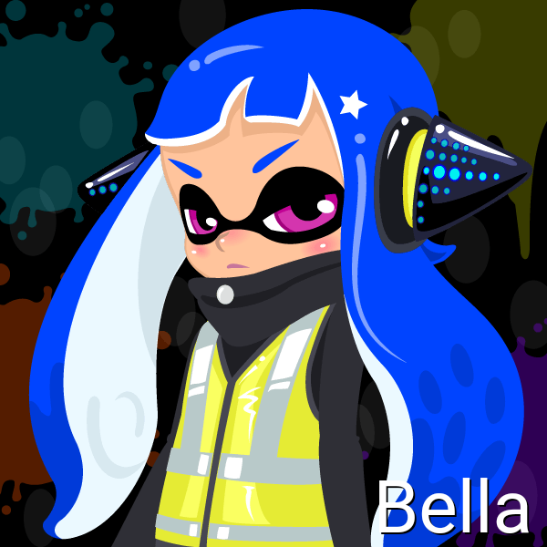 Bella (14 Years Old, Inkling Form) by Brightsworth-Heroes