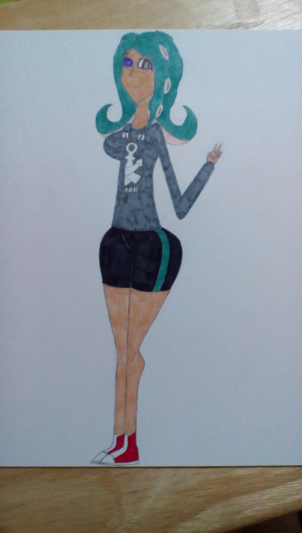 Future Cassie (bravebravesirbrian's Character) by Brightsworth-Heroes