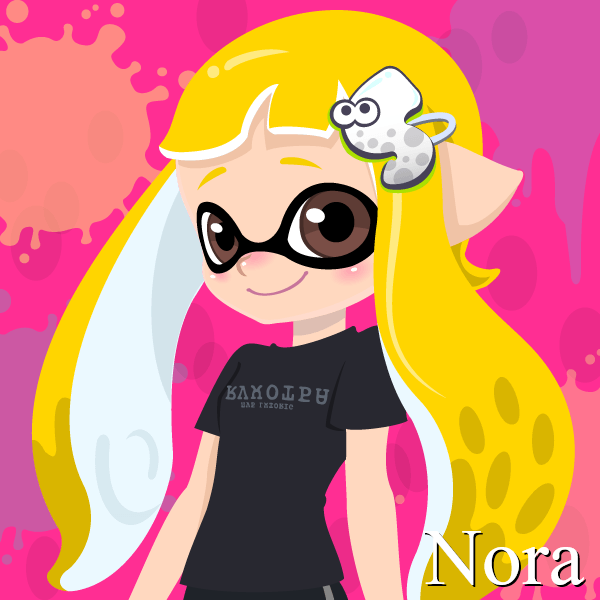 Nora (14 Years Old, Inkling Form) by Brightsworth-Heroes