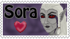 Stamp 'Sora' by Sharquelle