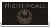 Stamp 'Nightingale' by Sharquelle