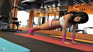 Cassie workout
