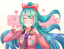 Smile!! by 39rin